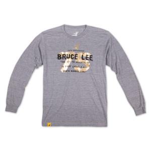 Bruce Lee 75th Triblend Longsleeve T-shirt