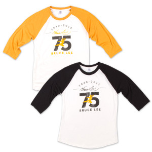 Bruce Lee 75th Raglan T-shirt