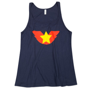 Bruce Lee Women's Wing Star Tank - EXCLUSIVE