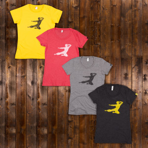 Bruce Lee Women's Flying Man T-shirt - EXCLUSIVE