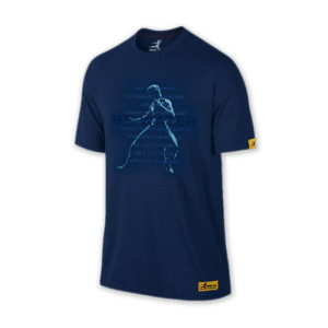 Bruce Lee Be Water Statue T-Shirt