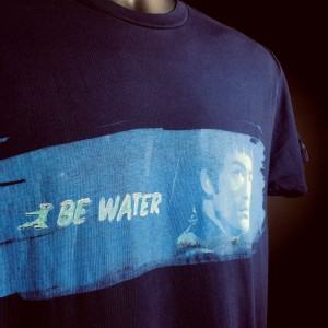 Be Water, My Friend Stroke T-shirt