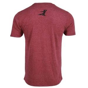 DJ Dragon Classic T-shirt - Burgundy