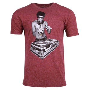 DJ Dragon Classic T-shirt - Burgundy