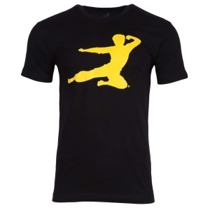 Flying Man T-shirt - Black