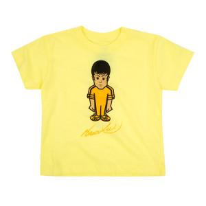 Bruce Lee Black/Yellow Toddler T-shirt