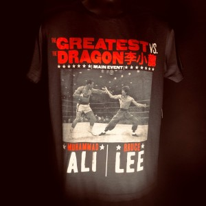 The Greatest vs. The Dragon T-shirt - Vintage Black