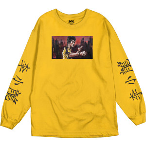 Warrior DGK Long Sleeve T-shirt - Gold
