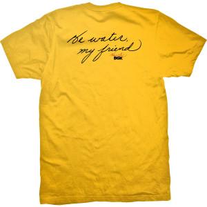 Warrior DGK T-shirt - Gold