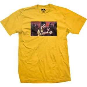 Warrior DGK T-shirt - Gold - 2XL ONLY