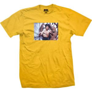 Scratch DGK T-shirt - Gold