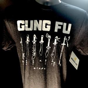 Gung Fu T-shirt - Coal