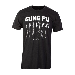 Gung Fu T-shirt - Coal