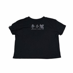 Bruce Lee Drivers License Women's Crop T-shirt