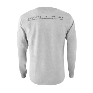 JKD Origins Simplicity Champion LS T-shirt - 3XL ONLY