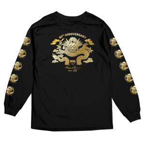 80th Anniversary LS T-shirt - Black