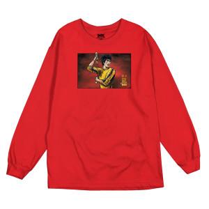 Technique LS T-shirt - Red