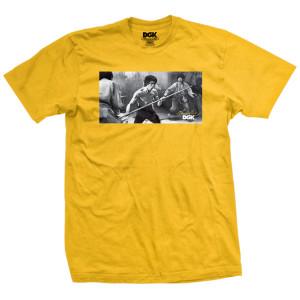 Power SS T-shirt - Gold
