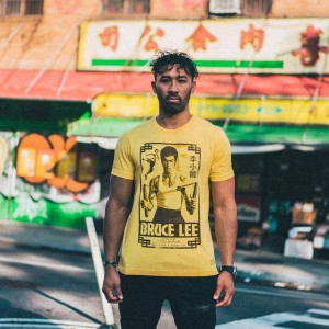 Bruce Lee 80th Anniversary Poster T-shirt