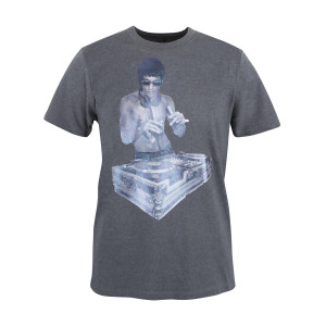 DJ Dragon Holographic T-shirt