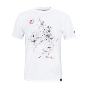 Battle Sketch by Bruce Lee Champion T-shirt