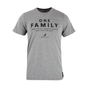 One Family Heather Grey T-shirt