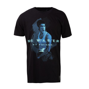 Be Water Nunchucks T-shirt