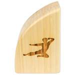 Bruce Lee Signature Bamboo Bookends - EXCLUSIVE