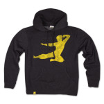 Bruce Lee Flying Man Pullover Hoodie