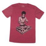 Bruce Lee DJ T-shirt by Bow & Arrow