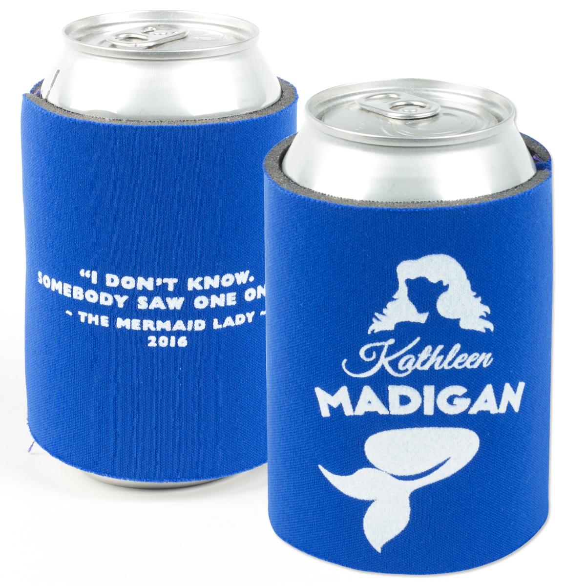 Kathleen Madigan Mermaid Koozie