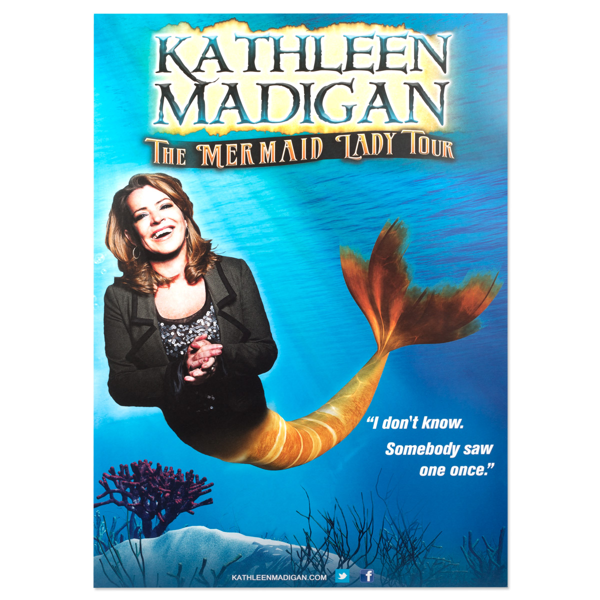 Kathleen Madigan Mermaid Poster