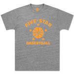 "Five-Star Basketball - Vintage ""Honesdale"" Tee"