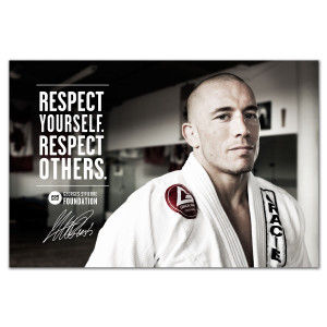The Georges St-Pierre Foundation Poster