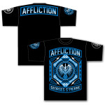 OFFICIAL GSP Affliction Prestige UFC 158 Walk Out T-shirt