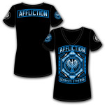OFFICIAL GSP Affliction Prestige UFC 158 Walk Out Ladies T-shirt