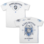 OFFICIAL GSP Affliction Royal Guard UFC 167 Walk Out White T-shirt