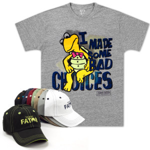 Terry Fator Bad Choices T-Shirt and Cap