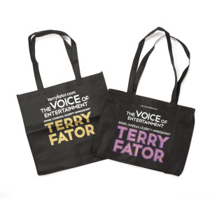 Terry Fator Eco Bags