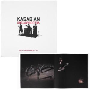 Kasabian Velociraptor UK Tour Programme