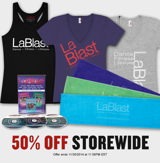 50% Off Storewide!