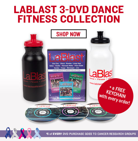 LaBlast 3-DVD Dance Fitness Collection