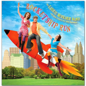 Laurie Berkner Band - Rocketship Run CD