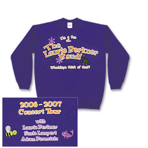 Laurie Berkner Band - 2006/2007 Concert Sweatshirt - Youth
