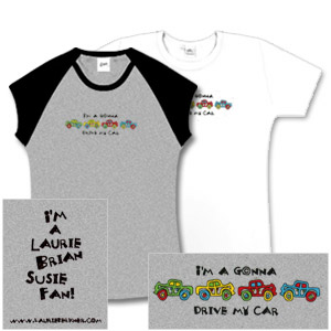 Laurie Berkner Band - Car Babydoll T-Shirt