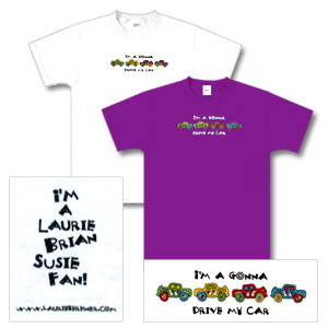 Laurie Berkner Band - Car T-Shirt