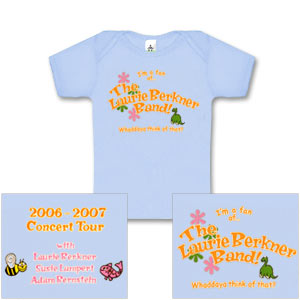 Laurie Berkner Band - 2006/2007 Concert T-Shirt- Infant