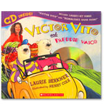 Laurie Berkner Band - Victor Vito and Freddie Vasco Book with CD