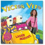 Laurie Berkner Band - Victor Vito CD