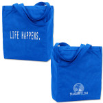 Pre-Order Brandon and Leah - Life Happens Recycled Organic Cotton Canvas Tote